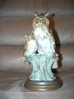 """Armani  """"Mother Owl and Baby""""  Vintage"""
