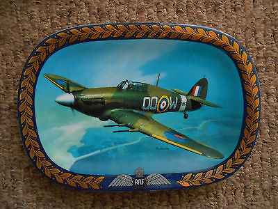 'The Hurricane' RAF Bradex wall plate in presentation box + certificate 4039A