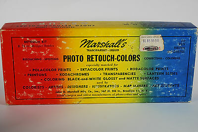 Marshall's Transparent Liquid Photo Retouch Colors - Group 2