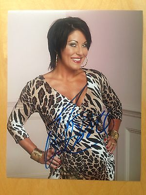 Jessie Wallace Hand SIGNED 10x8 PHOTO - Eastenders Autograph