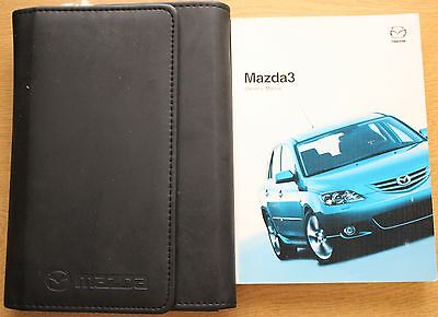 Mazda 3 Handbook Owners Manual Wallet 2003-2006 Pack 10211