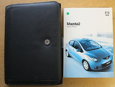 Mazda 2 Handbook Owners Manual Wallet 2007-2010 Pack 11110