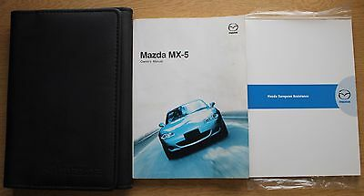 Mazda Mx-5 Handbook Owners Manual Wallet 2000-2005 Pack 12131
