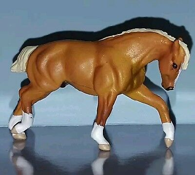 Breyer Mini Whinnie NEW Palomino PULLING DRAFT 300117 of 6 Drafts Collection