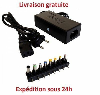 Chargeur Pc portable universel adaptateur HP Dell Asus samsung lG acer toshiba//