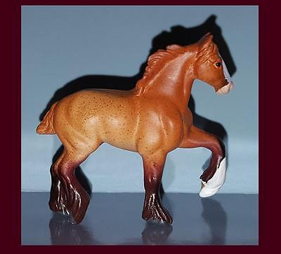 Breyer Mini Whinnie NEW Roan HIGH STEPPING DRAFT HORSE 300117 of 6 Drafts