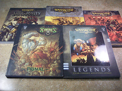 Privateer Press Warmachine and Hordes Rulebooks