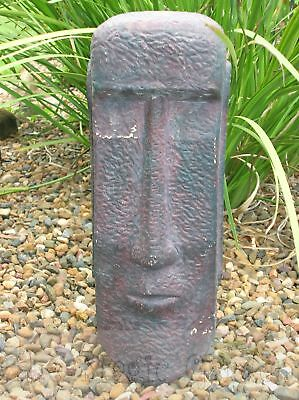 Easter Island head garden ornament cement plaster latex moulds molds