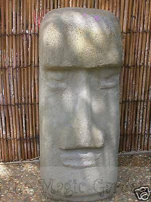 Large Easter Island head garden ornament cement concrete latex moulds molds