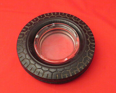 Vintage KELLY SPRINGFIELD Rubber Tire Ash Tray