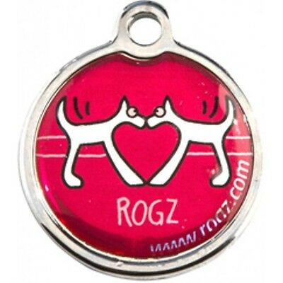 Rogz Metal ID Tag for Pet Dog or Cat Small & Large Various Designs