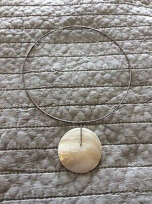 Vintage Sterling silver Chocker with pendant