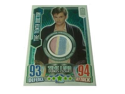 Dr Who Alien Attax 50th Ann Edit Costume 10th Doctor's Pyjamas Card Topps - 2013
