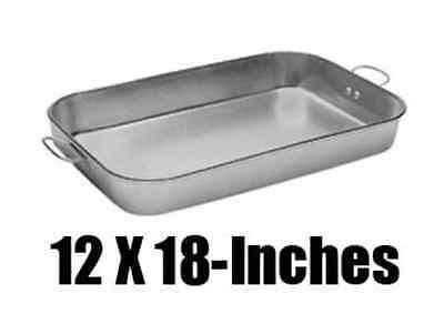 "Update International ABP-1218 - 18"" x 12"" Aluminum Bake Pan"