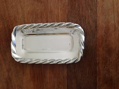New in Box-Mariposa Swizzle Butter Dish