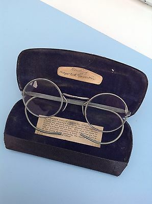 Vintage Spectacles With Case