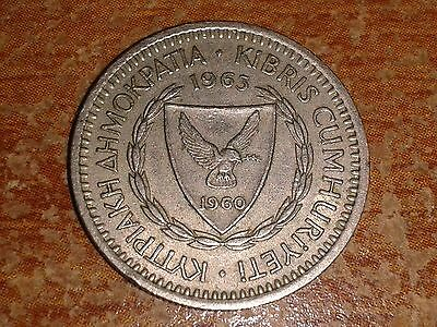 Cyprus Coin - 25 Mils - 1963