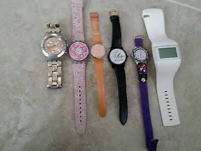 Watch Lot - Swatch, o.d.m., ballet, Disney 35 years 6 Watches Not Tested