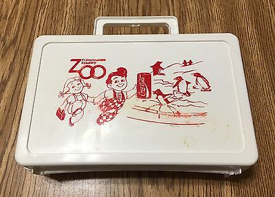Milwaukee County Zoo-Restaurant Big Boy, Coca-Cola Plastic Lunchbox