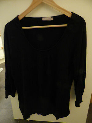 Black Maternity jumper from New Look - size 18