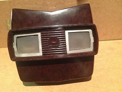 bakelite view master job lot  [1950/ 60,s ] [2 viewmasters and box with reals]