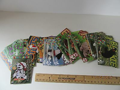Beanie Babies Cards Ty Trading Cards Series 1 Common Cards Holiday Teddy 98