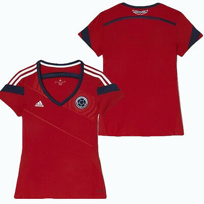 Colombia away woman soccer jersey world cup 2010 size M