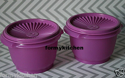 Tupperware Classic Servalier Bowl Container 20 oz 1 Set 2 New!!!