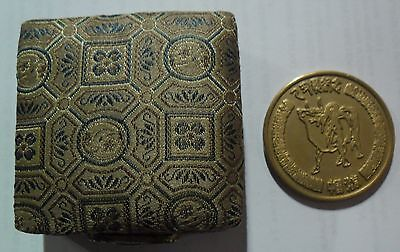 Chinese Year of the Ox Medallion in original case