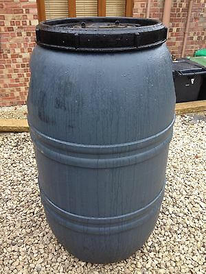200 / (220) Litre HDPE Plastic Barrel, Container, Great Water Butt Waterbutt