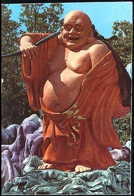 POSTCARD- STATUE of SACK MONK, SINGAPORE