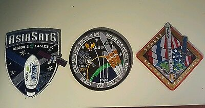 NASA Delta  IV and Spacex Falcon 9 Patches