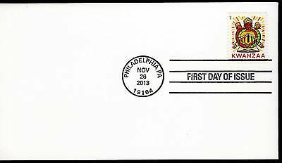 US 2013 . Kwanzaa (4845) First Day Cover . Uncacheted