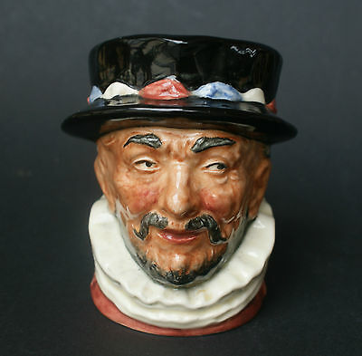 Royal Doulton English Beefeater Toby Jug - Signed By Michael Doulton
