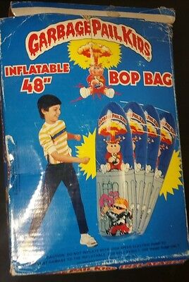 "Vintage Garbage Pail Kids Inflatable 48"" BOP BAG RARE Imperial Toys Jolly Roger"