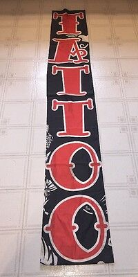 """Large Tattoo Banner/ Tapestrie 15"""" X 90"""""""
