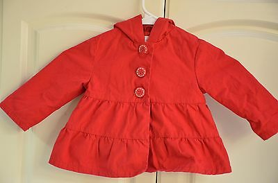 Gymboree 12-24 month red strawberry coat jacket burst of spring collection