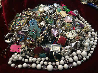 3 Lbs Broken Jewelry for Repair, Parts or Crafting - Mix Lot #5