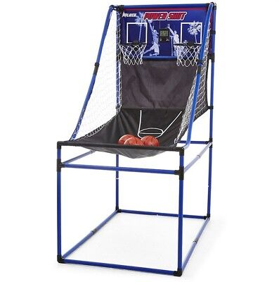 Arcade Basketball Game Basket Ball Auto Return Practice + Electronic Score Board