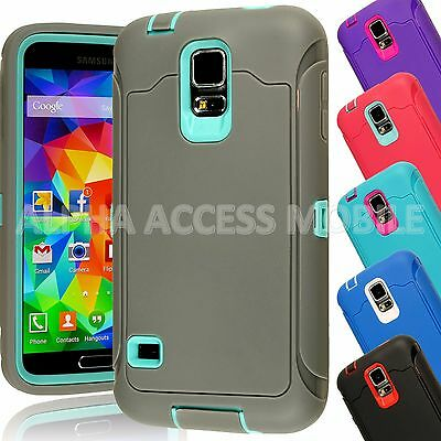 15 TPU Shockproof Defender Hybrid Case Cover Wholesale Lot For Samsung Galaxy S5