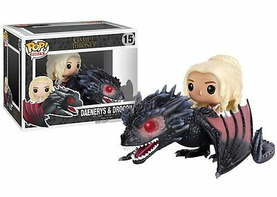 Funko Pop Rides Game of Thrones Daenerys & Drogon Action Figure Toy #15