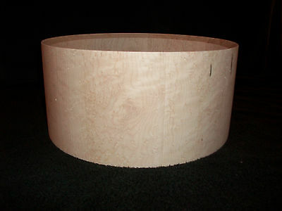 "6 1/2 x14"" Bird's Eye Maple Solid Stave Snare Drum Shell"