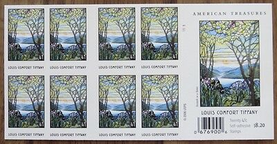UNITED STATES USA 2006 TIFFANY Booklet AMERICAN TREASURES 20 stamps MNH