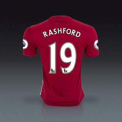 manchester united Home jersey Soccer RASHFORD 19  in size M