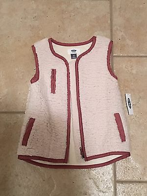 NWT Old Navy Toddler Girls Shearling Vest Size 4T