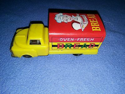Tin Advertising Truck - Bread - Made in Japan - Super Cond!!