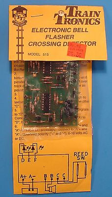 Train Tronics 515 Crossing Control w/Bell, 501 Signal Flasher & 502 Activator