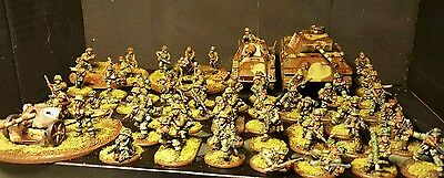 Warlord Bolt Action SS 1000pt Army. Professionally Painted. Ideal Gift