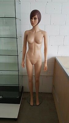 Brand new plastic female mannequin with stand. Great quality. What a babe!!!