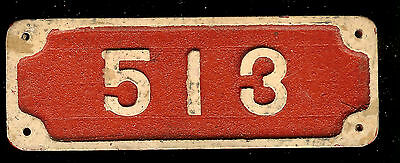 "N.O.S. Aluminum ""FDNY"" Fire Alarm Number Plate Fits Gamewell Police Call Box"